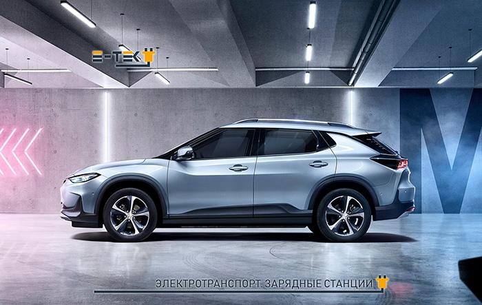Электрокар Chevrolet Menlo EV