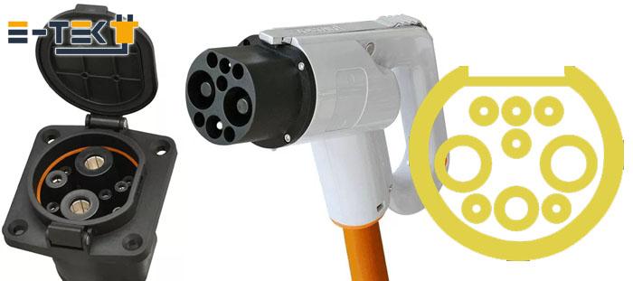 Разъем GB-T 20234 постоянного тока (DC)